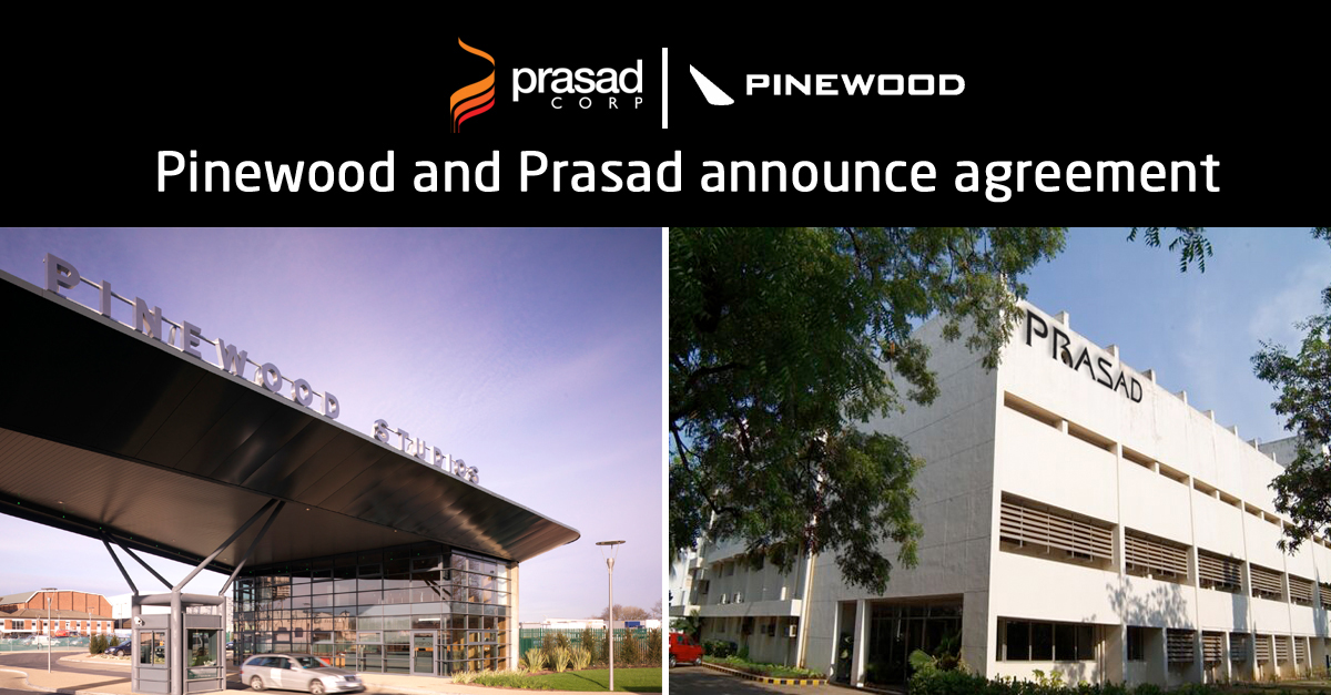 pinewood and prasad announce agreement