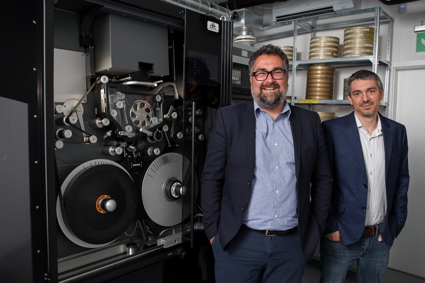 Hungary's National Film      Institute  installs latest  Scanity HDR 4K